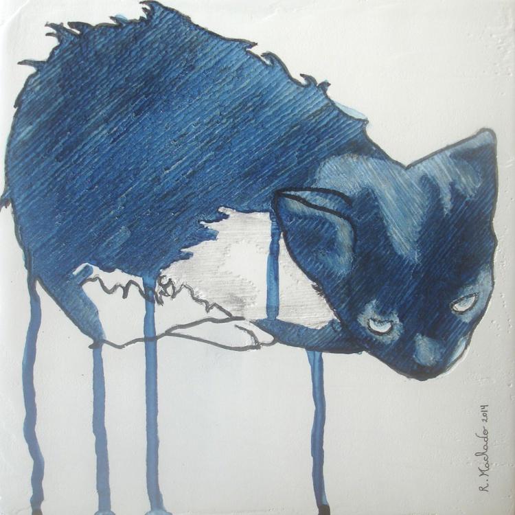 Cat Carved V - Image 0