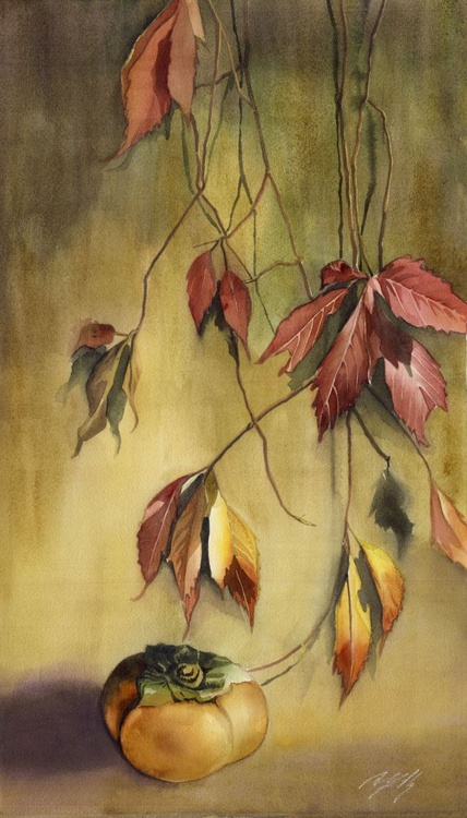 A persimmon Autumn - Image 0
