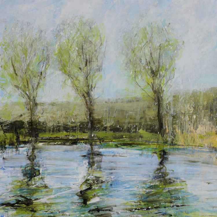 Three Willows on the bend - May.