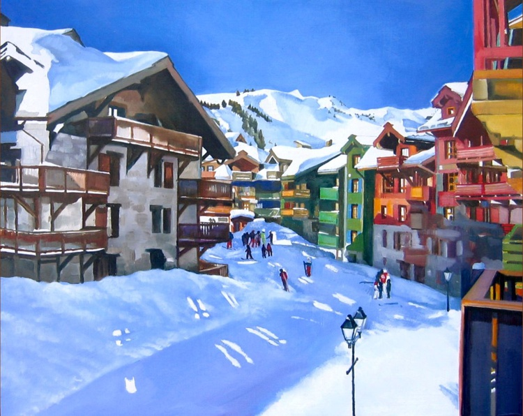 The Ski Village of Les Arc - Image 0