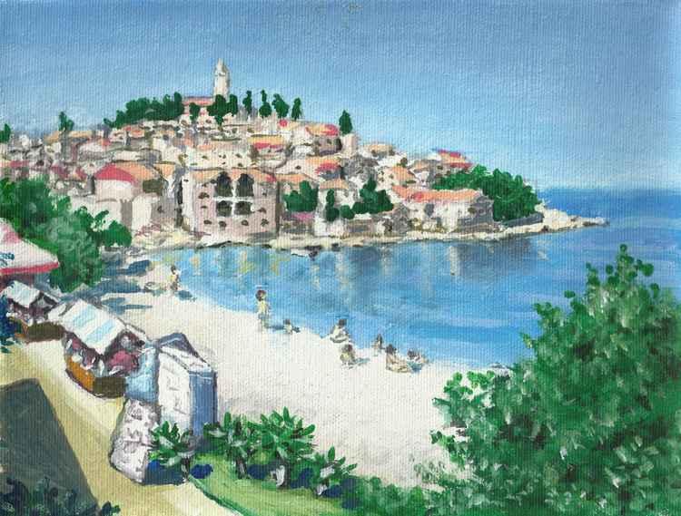Dalmatian Town Primosten - Free Shipping -