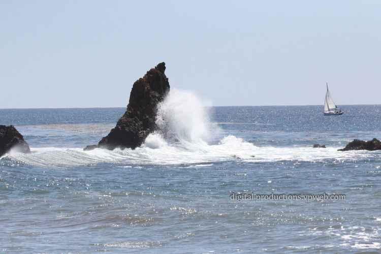 Rocky California Coast Line -