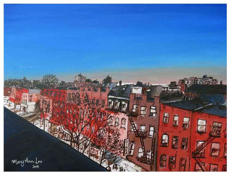 Brooklyn rooftops (2014)