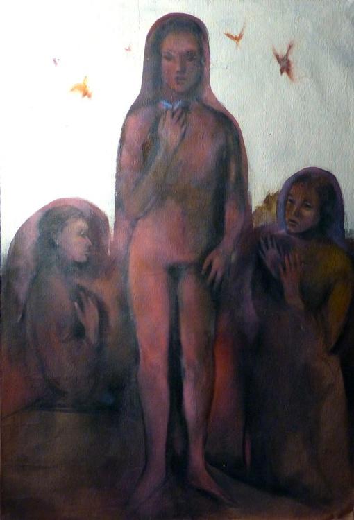IDOLATRY, oil on canvas 130x89 cm - Image 0