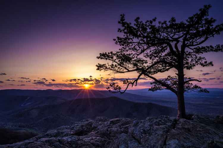 Ravens Roost Sunset -