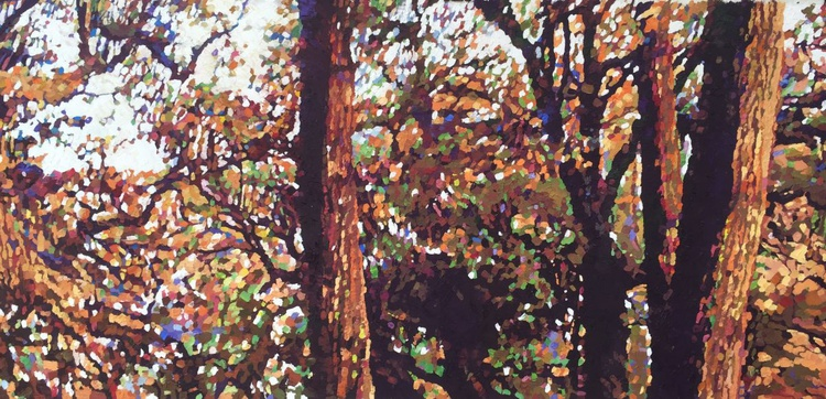 Study of trees at Roundwood - Image 0