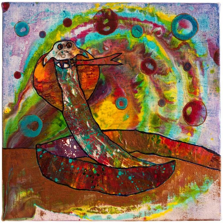 Acrylic Skin Snake - Image 0