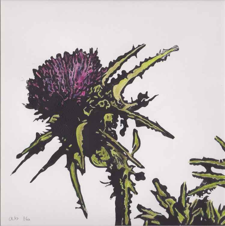 Spikes 10 - Scottish thistle -