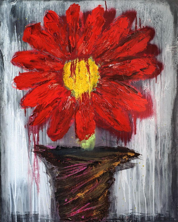 Red Flower - Image 0