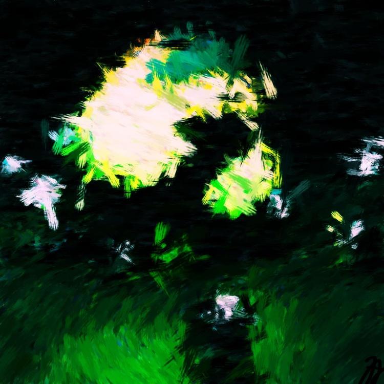 "Green - Premium Print on Forex Board - 11.81 x 11.81"" - FREE SHIPPING - Image 0"