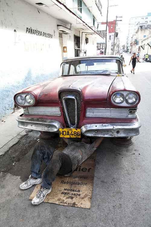 Mechanic, Havana -