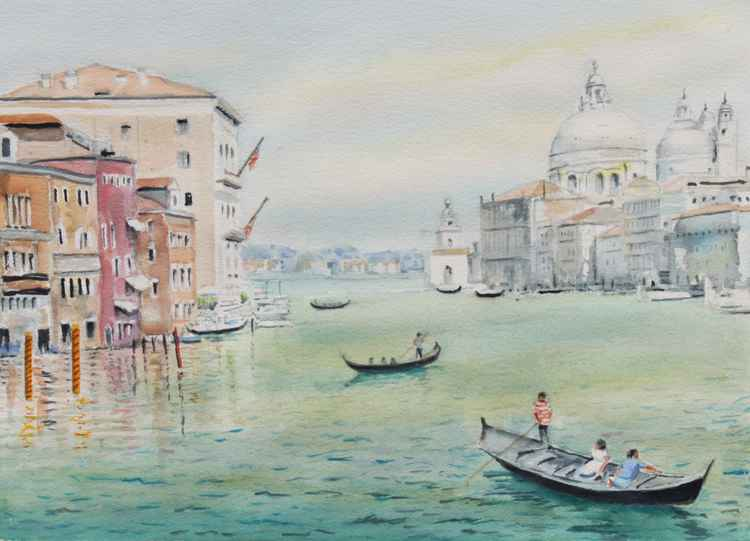 Venice seen by my 11-year-old grandson. -