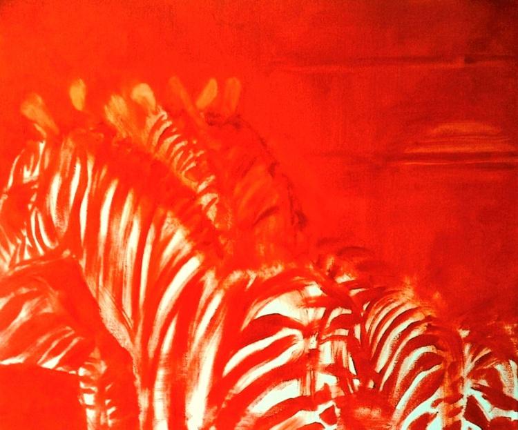 Zebra Sunset - Image 0