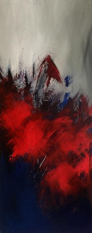 Love from Paris | Original Painting | 91.4 x 61.0 | 2015 - Image 0