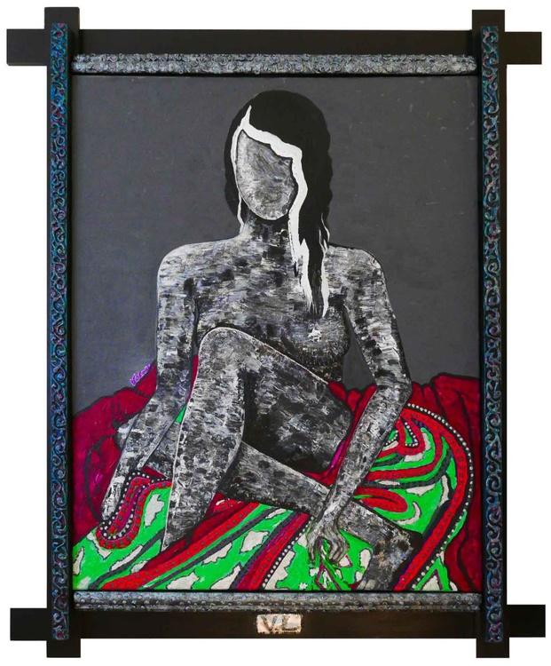 Green rug - Image 0