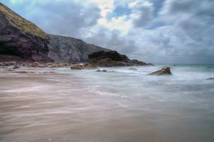Porthtowan Stormy weather -