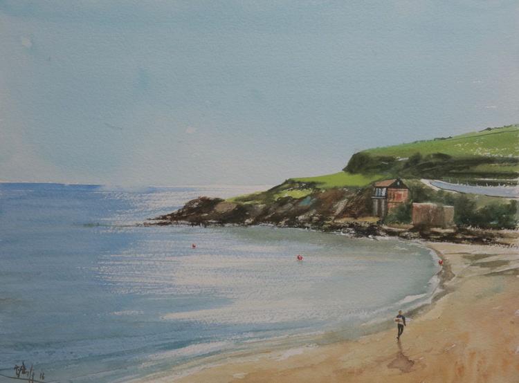 Bigbury Beach, Devon, England - Image 0