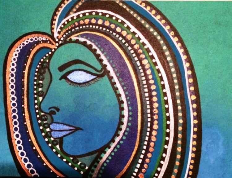 Blue Goddess Blue