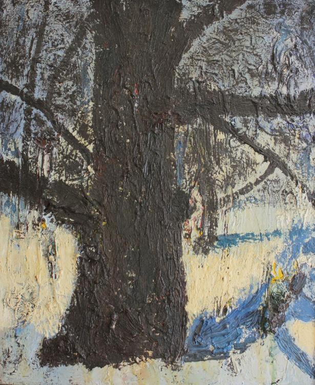 """Winter Oak"". Oil on canvas. 50/60cm. 2011. - Image 0"