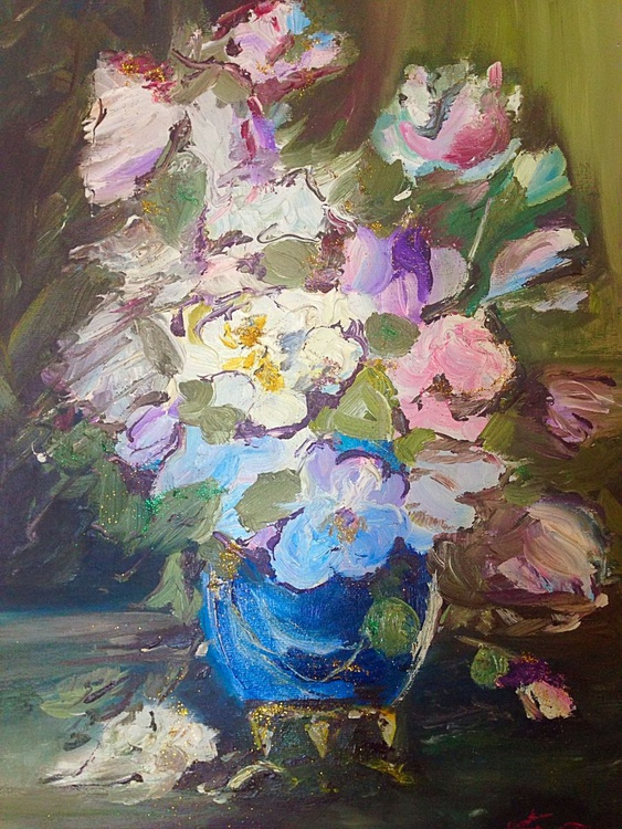 Flowers with glitters - Image 0