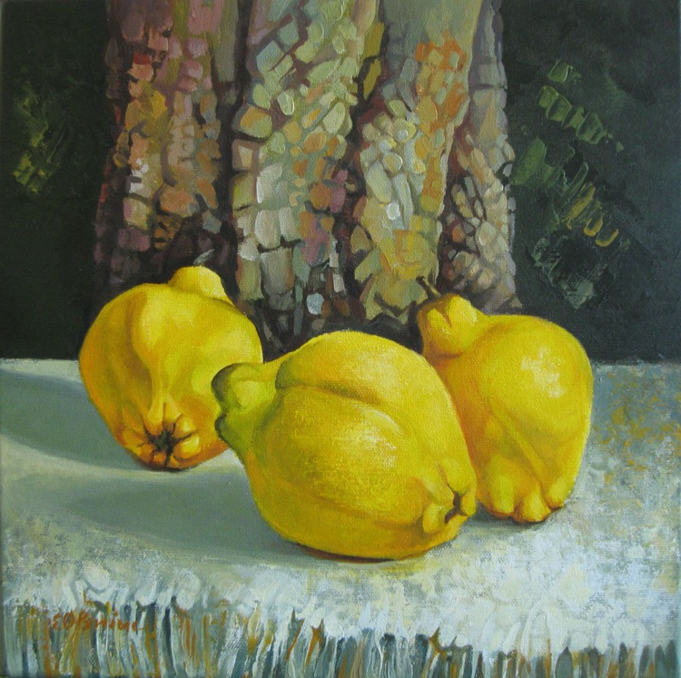 Still life with quinces - Image 0
