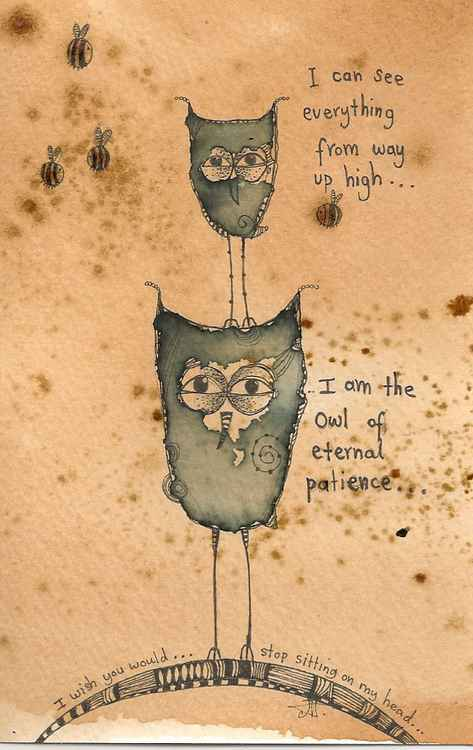 The Owl Of Eternal Patience