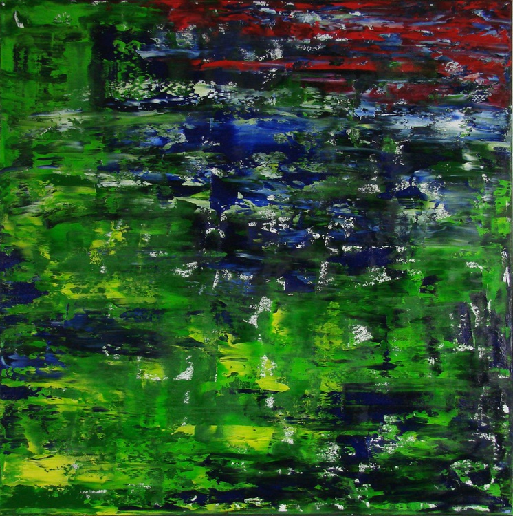 Rainforest (80x80cm) - Image 0