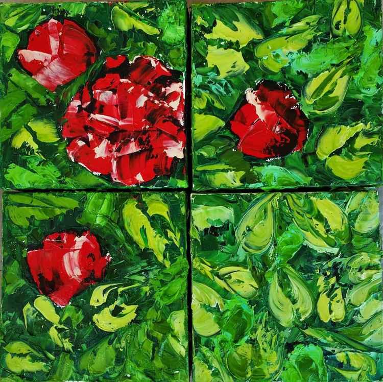 Rose Bush -