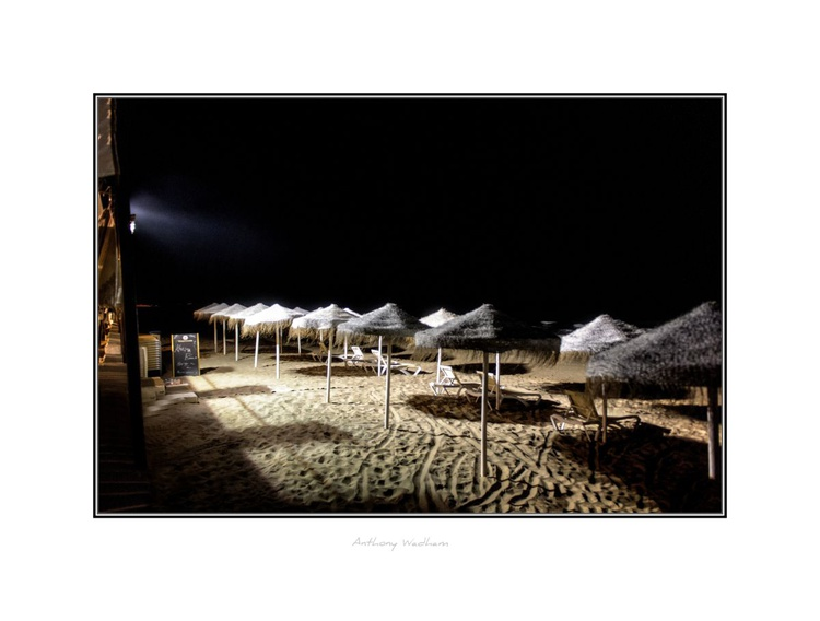 Night-time on the Beach - Image 0