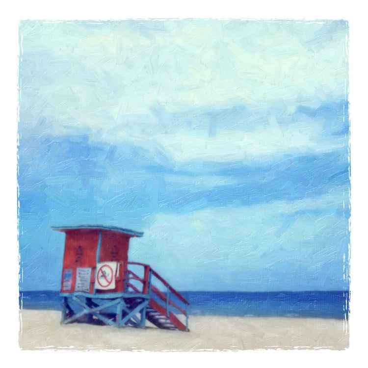 Lifeguard Stand, Haulover Beach, FL