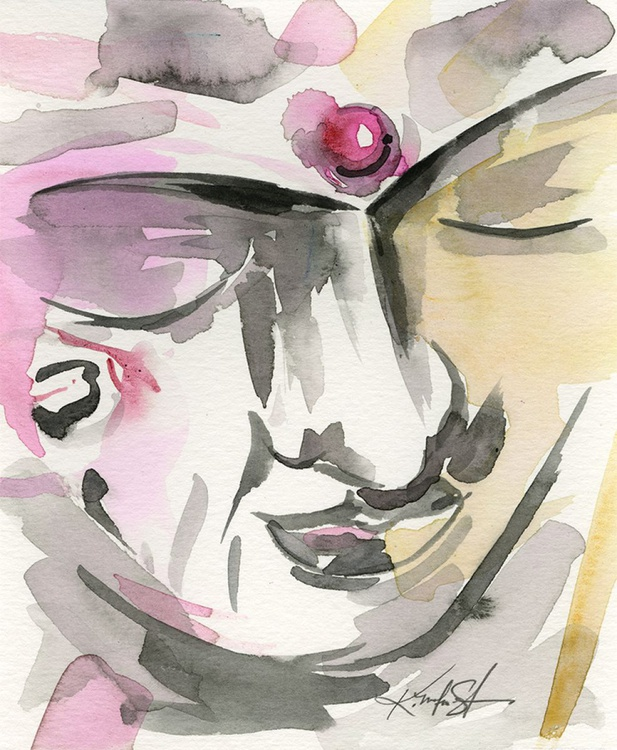 From the Buddha Series - Sketch No. 3 - Image 0