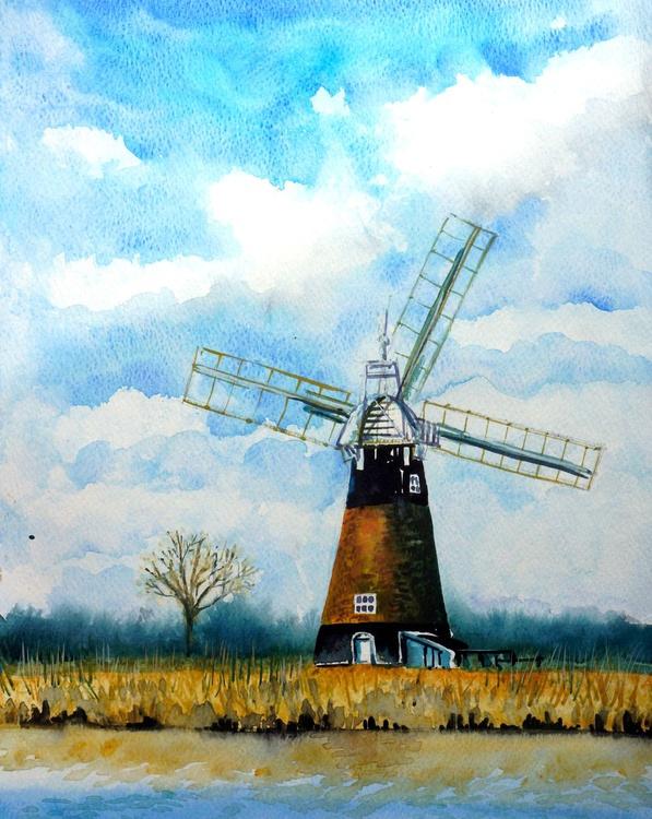 Windmill - Norfolk Broads - Image 0