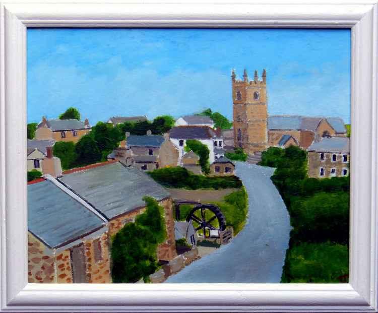 Zennor village -