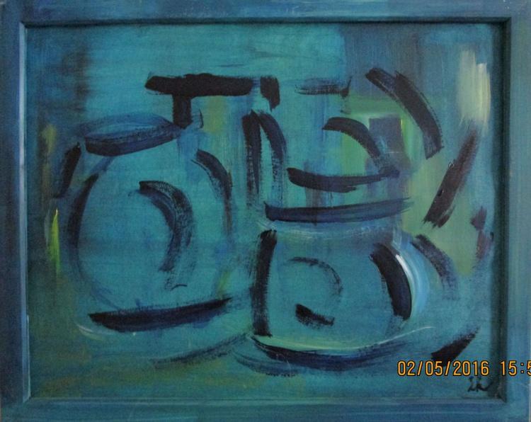 Stilllife, blue - Image 0