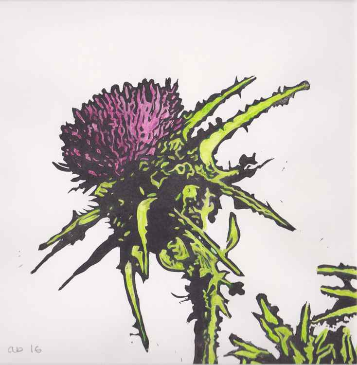 Spikes 9 - Scottish thistle -