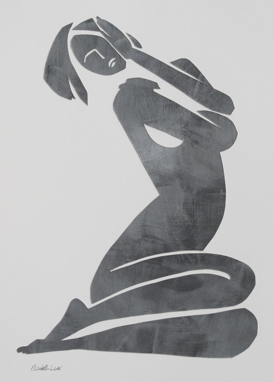 Esther in Dark Silver - Image 0