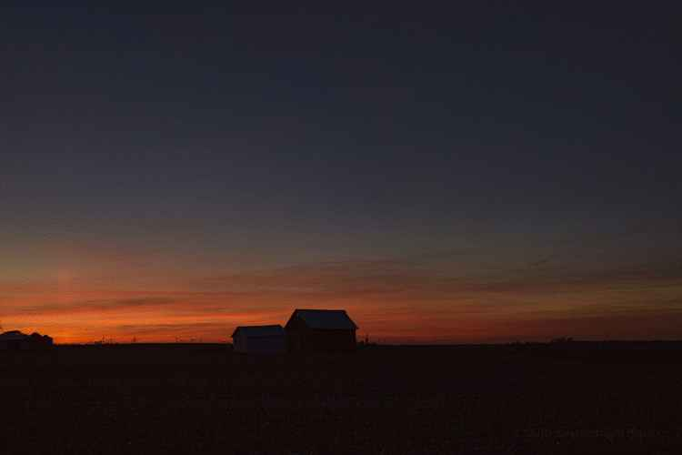 A Prairie Twilight's Whisper -
