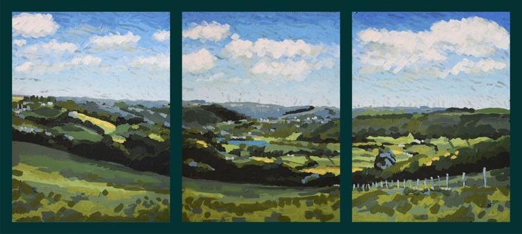 Cwm Rheidol (Triptych) - Image 0