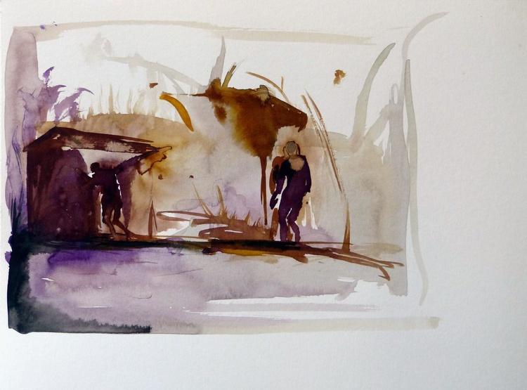 Scarecrow, 28x21 cm - Image 0