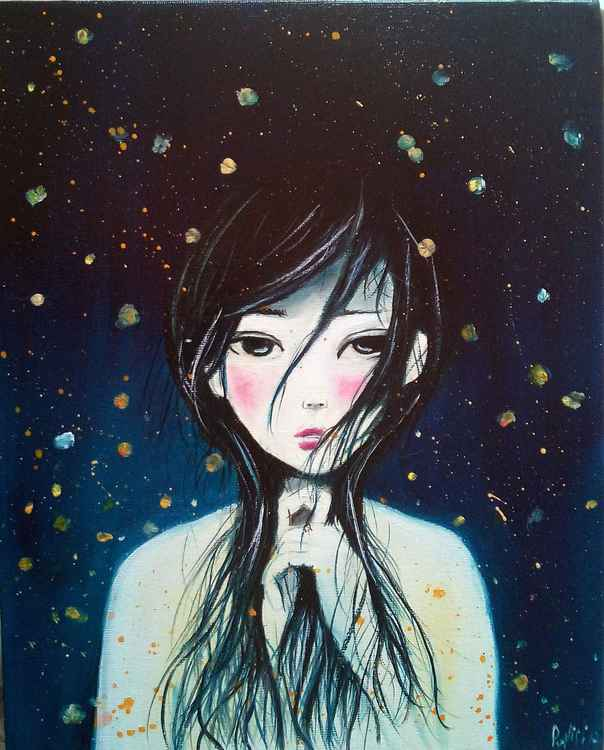 The fairy of the fireflies -