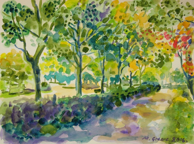 Calais - under the trees - Image 0