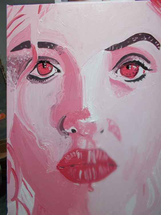 Pink face 1 -