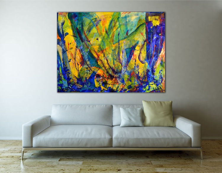 Ocean particles - COMPLEX AND DEEP STATEMENT PIECE - Image 0