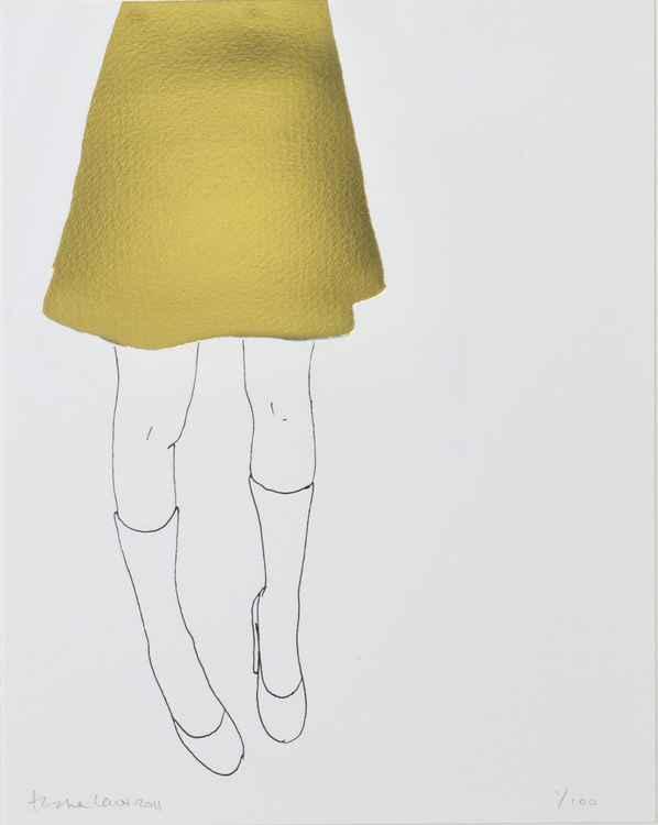 Gold Skirt -
