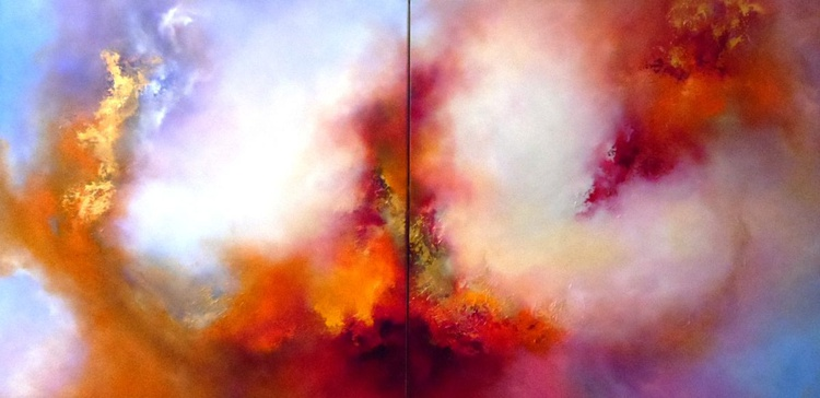 Orgaised Chaos II (XL Diptych) - Image 0