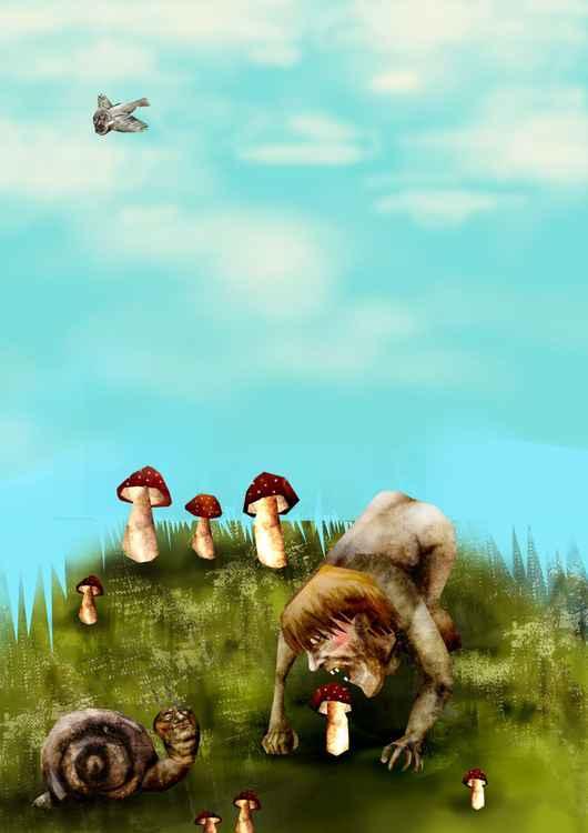 toadstools -