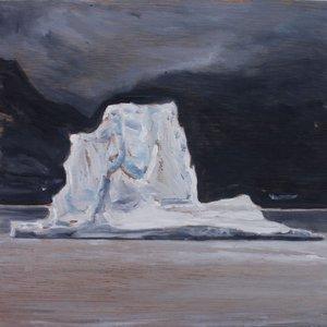 Iceberg Sketch 3 by LARA DAVIES