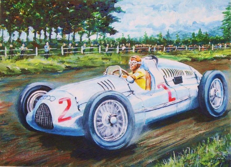 Tazio Nuvolari - Nürburgring 1939 - Image 0