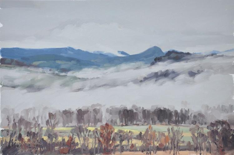 February 9, Roches de Mariol, mists - Image 0