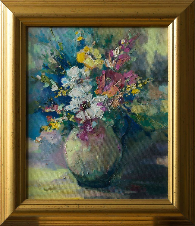 'Flowers Vase' - Image 0
